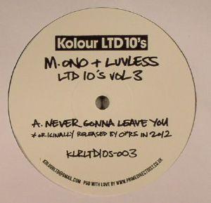 M ONO/LUVLESS - Ltd 10's Vol 3