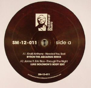 KHALIL, Anthony/JOANNA/THATMANMONKZ/SIMBA - Shadeleaf Remixes EP