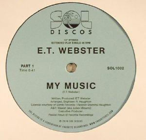 ET WEBSTER - My Music