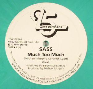 SASS - Much Too Much