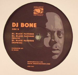 DJ BONE & DEETRON - The Storytellers EP (black vinyl repress)