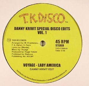 KRIVIT, Danny/VOYAGE - Danny Krivit Special Disco Edits Vol 1