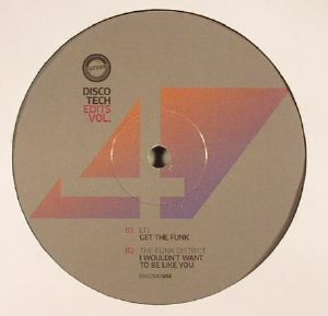 DR PACKER/DISCO TECH/LTJ/THE FUNK DISTRICT - Disco Tech Edits Vol 4