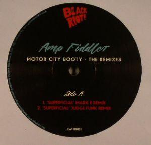AMP FIDDLER - Motor City Booty: The Remixes