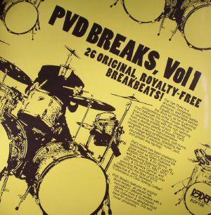 VAN DYKE, Pat - PVD Breaks Vol 1: Royalty Free Breaks