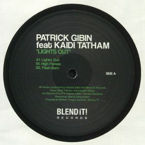 GIBIN, Patrick feat KAIDI TATHAM - Lights Out