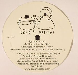 EGYPTIAN LOVER - My House (On The Nile) (remixes)