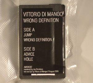 VITTORIO DI MANGO - Wrong Definition