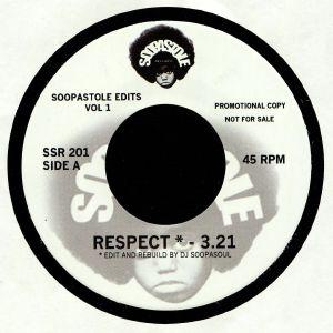 DJ SOOPASOUL - Soopastole Edits Vol 1