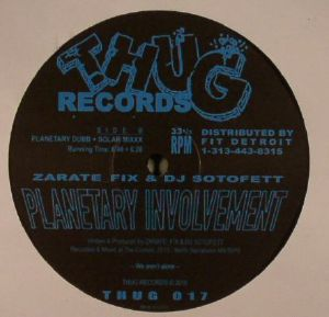 ZARATE FIX/DJ SOTOFETT - Planetary Involvement