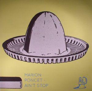 PONCET, Marion - Ain't Stop EP