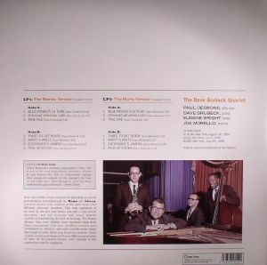 DAVE BRUBECK QUARTET, The - Time Out: Stereo & Mono Versions