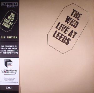 WHO, The - Live At Leeds (Deluxe Edition) (half speed remastered)