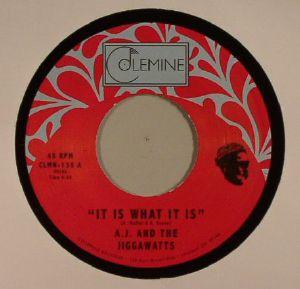 AJ & THE JIGGAWATTS - It Is What It Is