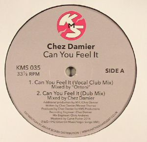 DAMIER, Chez - Can You Feel It (reissue)