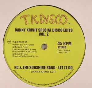 KC & THE SUNSHINE BAND/GWEN McCRAE - Danny Krivit Special Disco Edits Vol 2