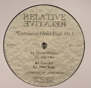 SWING, John - Unreleased House Dubs Vol 1