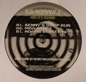 DJ JUS ED - Jus Nomaly 2