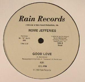 JEFFERIES, Rome - Good Love (reissue)