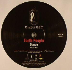 EARTH PEOPLE - Dance (repress)