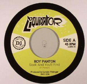 PANTON, Roy - Seek & You'll Find