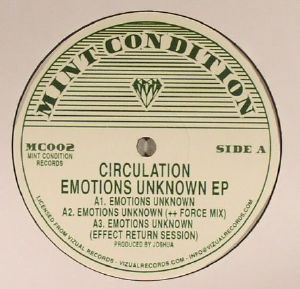 CIRCULATION - Emotions Unknown EP (reissue)
