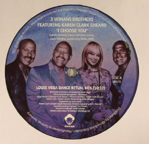 3 WINANS BROTHERS feat KAREN CLARK SHEARD - I Choose You