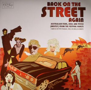 VARIOUS - Back On The Street Again: Australian Funk, Soul & Psyche (Mostly) From The Festival Vaults