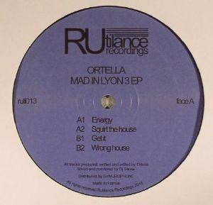 ORTELLA - Mad In Lyon 3 EP