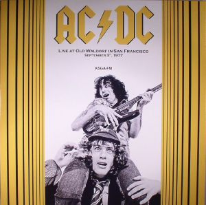 AC/DC - Live At Old Waldorf In San Francisco September 3, 1977 (reissue)