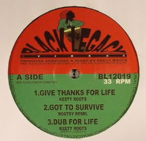 KEETY ROOTS/ROOTSY REBEL - Give Thanks For Live