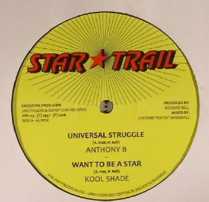 ANTHONY B/KOOL SHADE - Universal Struggle