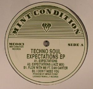 TECHNO SOUL - Expectations EP (reissue)