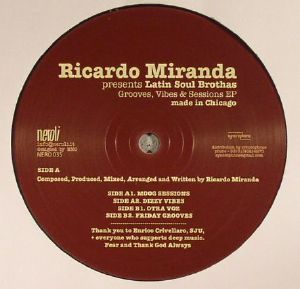 MIRANDA, Ricardo presents LATIN SOUL BROTHAS - Grooves Vibes & Sessions EP