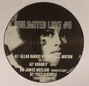 HARRIS, Allan/PERPETUAL MOTION/ASHANTI/JANICE McCLAIN/PUZZLE PEOPLE - Unlimited Love #5