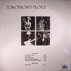 TOMORROW'S PEOPLE - Open Soul (reissue)
