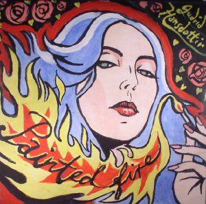 HANSDOTTIR, Gudrid - Painted Fire