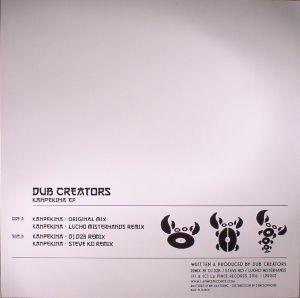 DUB CREATORS - Kanpekina EP
