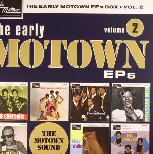 VARIOUS - The Early Motown EPs Box Vol 2