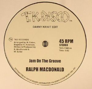MACDONALD, Ralph/FOXY - Jam On The Groove (Danny Krivit edits) (reissue)