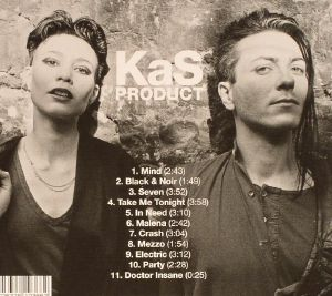 KAS PRODUCT - Black & Noir: Mutant Experimental Synth Punk From France 1980-83