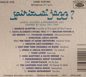 VARIOUS - Spiritual Jazz 7: Islam