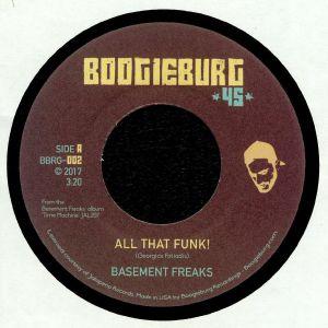 BASEMENT FREAKS - All That Funk!