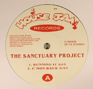 SANCTUARY PROJECT, The - Running It (reissue)