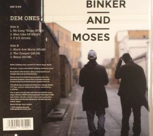 BINKER & MOSES - Dem Ones