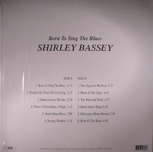 BASSEY, Shirley - Born To Sing The Blues (reissue)