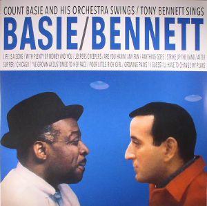 COUNT BASIE & TONY BENNETT - Basie Swings Bennett Sings (reissue)