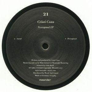 CRISTI CONS - Perceptual EP