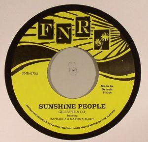 GILLESPIE & CO feat RAPHAELIA/MARTIN MELODY - Sunshine People