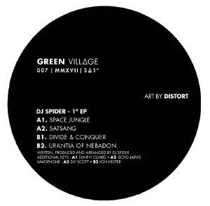 DJ SPIDER - 1 Degree EP